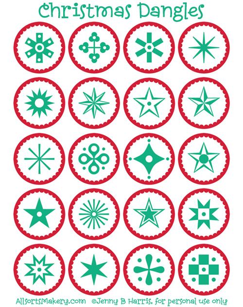 Christmas-dangles