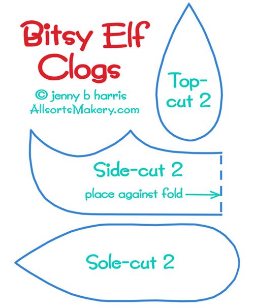 Elf-clogs-pattern