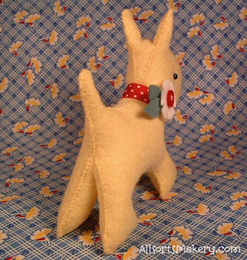 Softie scotty dog - allsorts