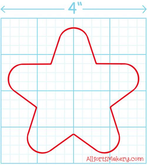 Felt-star-pattern