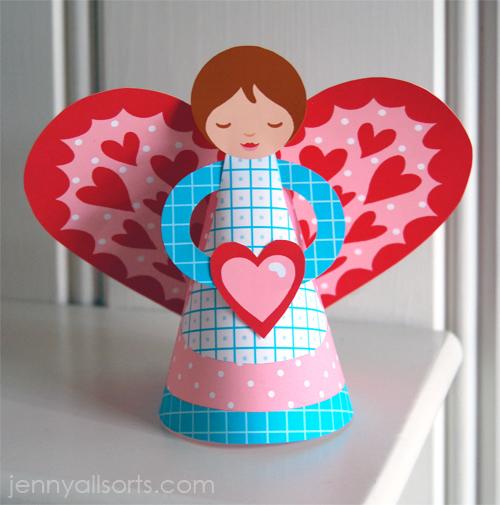 Printable-paper-angel