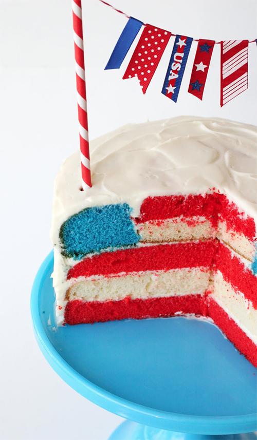 Flag-cake
