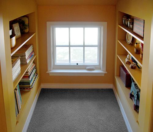 Shelves-before