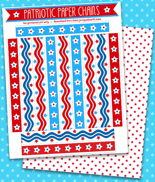 Patriotic-paper-chain-bright