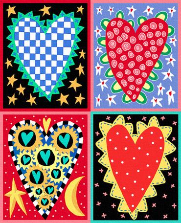 Paintedhearts