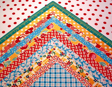 Crazy about quilting - allsorts : crazy nine patch quilt - Adamdwight.com