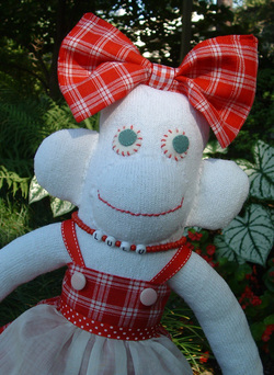 Month of Softies - Lulu the Sock Monkey - allsorts